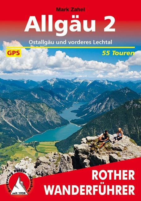 Allgäu 2   Rother Wanderführer (wandelgids) 9783763345427  Bergverlag Rother RWG  Wandelgidsen Beierse Alpen