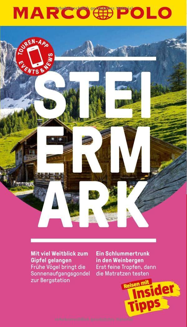 Marco Polo Steiermark Reiseführer | reisgids 9783829729017  Marco Polo (D)   Reisgidsen Salzburg, Karinthië, Tauern, Stiermarken