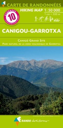 RP-10  Canigou 1:50.000 9782344031469  Rando Editions Randonnées Pyrénéennes  Wandelkaarten Franse Pyreneeën, Toulouse, Gers, Garonne