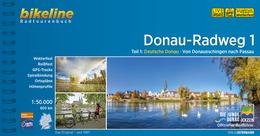 Bikeline Donau-Radweg 1 | fietsgids 9783850007993  Esterbauer Bikeline  Fietsgidsen, Meerdaagse fietsvakanties Duitsland