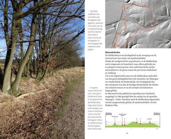 Geopaden op de stuwwal 9789053454862 Vereniging Geopaden Stuwwal Matrijs Cultuurhistorische Routes  Historische reisgidsen, Natuurgidsen, Wandelgidsen Nijmegen en het Rivierengebied