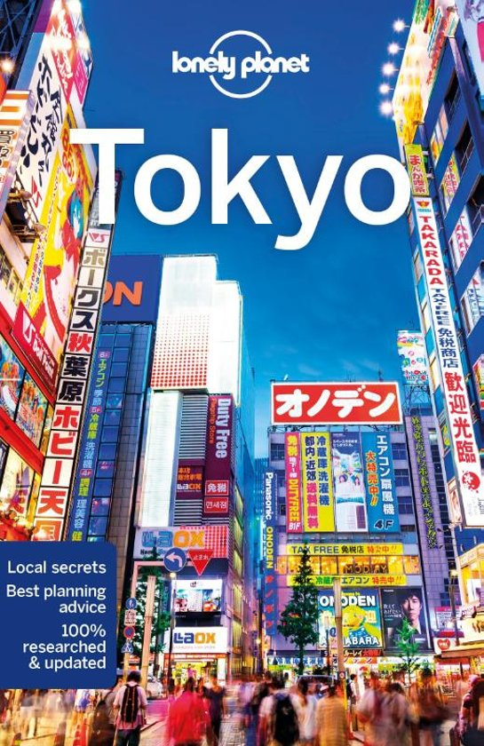 Tokyo   Lonely Planet City Guide 9781786578488  Lonely Planet Cityguides  Reisgidsen Japan