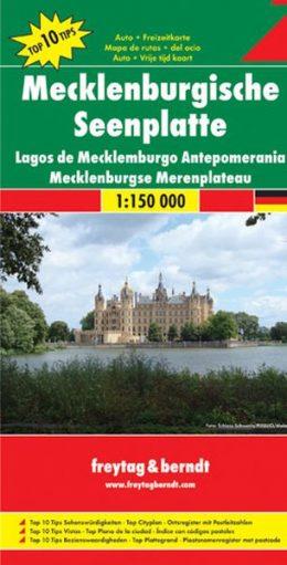 Overzichtskaart Mecklenburgische Seenplatte 1:150.000 9783707909531  Freytag & Berndt F&B deelkaarten Duitsland  Landkaarten en wegenkaarten Mecklenburgische Seenplatte