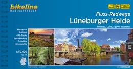 Bikeline Lüneburger Heide Fluss-Radwege   fietsgids 9783850007528  Esterbauer Bikeline  Fietsgidsen Lüneburger Heide, Elbufer