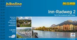 Bikeline Inn-Radweg 2 | fietsgids 9783850008013  Esterbauer Bikeline  Fietsgidsen, Meerdaagse fietsvakanties Oostenrijk