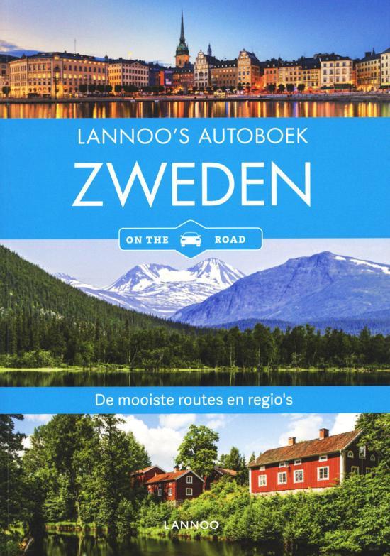 Lannoo's Autoboek Zweden 9789401457934  Lannoo Lannoos Autoboeken  Reisgidsen Zweden