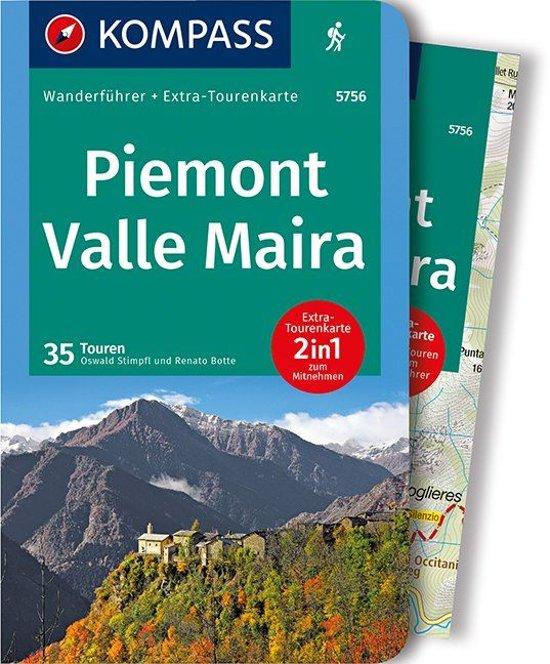 Valle Maira, Piemonte Wanderführer | wandelgids 9783990442241  Kompass   Wandelgidsen Ligurië, Piemonte, Lombardije