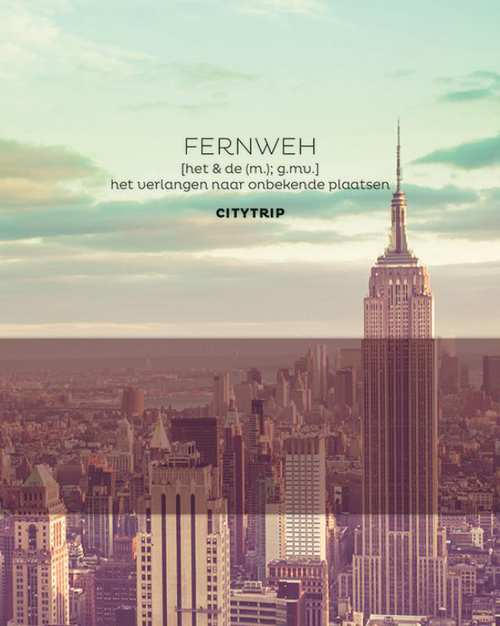 FERNWEH Citytrip 9789045324593  BBNC   Reisgidsen Wereld als geheel