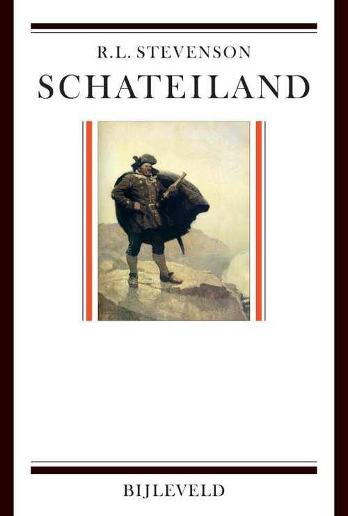 Schateiland   Robert Louis Stevenson 9789061317821 Robert Louis Stevenson Bijleveld   Reisverhalen Pacifische Oceaan (Pacific)