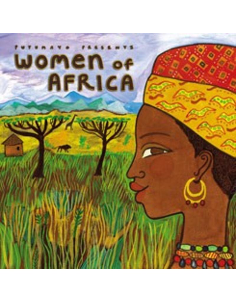 Women of Africa PUTU 223  Putumayo World Music CD  Muziek Afrika
