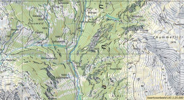 CH-1217  Scalettapass [2017] topografische wandelkaart 9783302012179  Bundesamt / Swisstopo LKS 1:25.000  Wandelkaarten Graubünden, Tessin