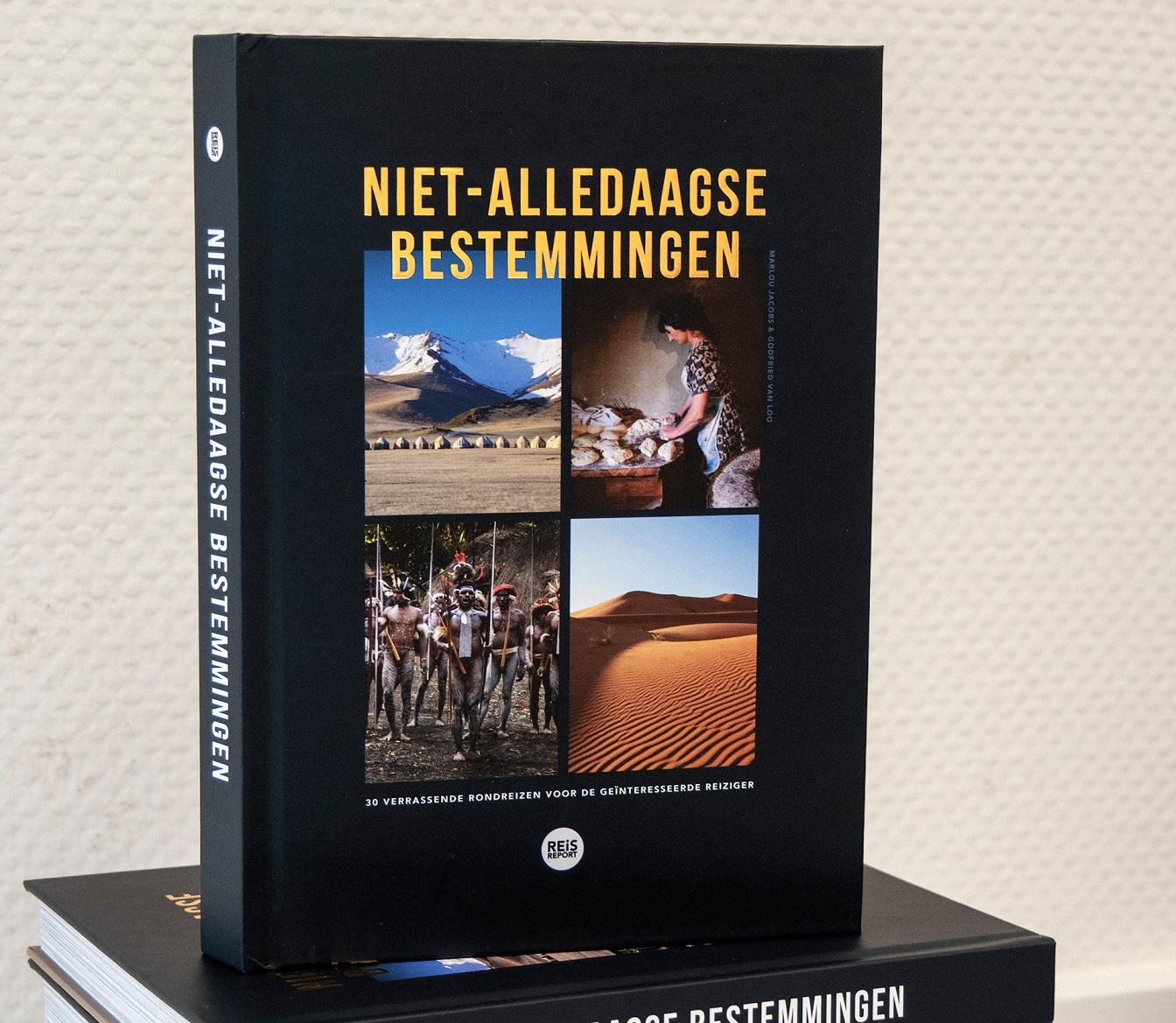 Niet-Alledaagse Bestemmingen 9789082974584 Marlou Jacobs & Godfried van Loo REiSREPORT   Reisgidsen Wereld als geheel