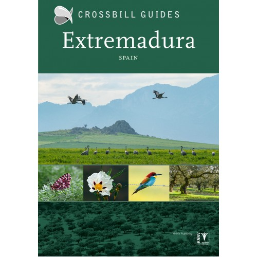 Extremadura   Crossbill Guide 9789491648182 Dirk Hilbers Crossbill Guides Foundation / KNNV Nature Guides  Natuurgidsen Extremadura