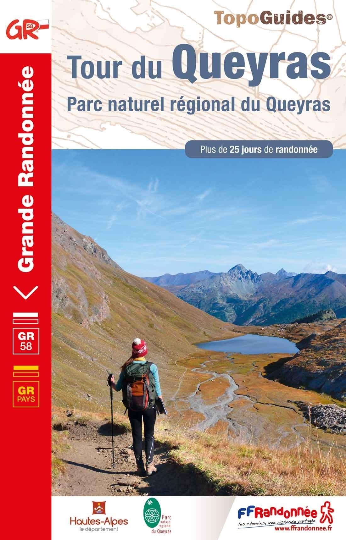 TG505  Tour du Queyras | wandelgids GR-58 9782751403132  FFRP Topoguides  Meerdaagse wandelroutes, Wandelgidsen Écrins, Queyras