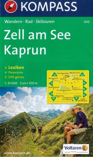 KP-030  Zell am See, Kaprun | Kompass wandelkaart * 9783854912378  Kompass Wandelkaarten Kompass Oostenrijk  Wandelkaarten Salzburg, Karinthië, Tauern, Stiermarken