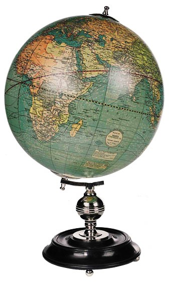 Weber Costello Globe GL036  Authentic Models Globes / Wereldbollen  Globes Wereld als geheel