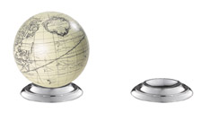 Base (aluminium) GL200A  Authentic Models Globes / Wereldbollen  Globes Wereld als geheel