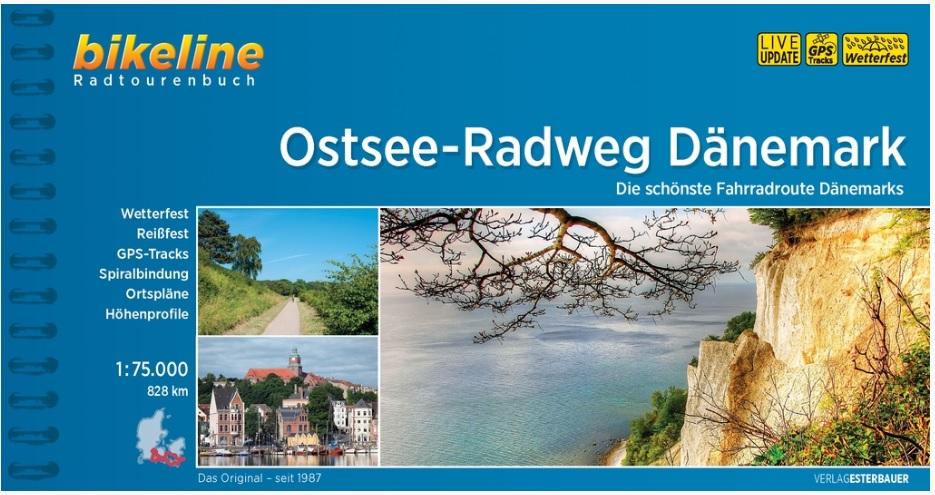 Bikeline Ostsee-Radweg Dänemark   fietsgids 9783850008273  Esterbauer Bikeline  Fietsgidsen, Meerdaagse fietsvakanties Denemarken
