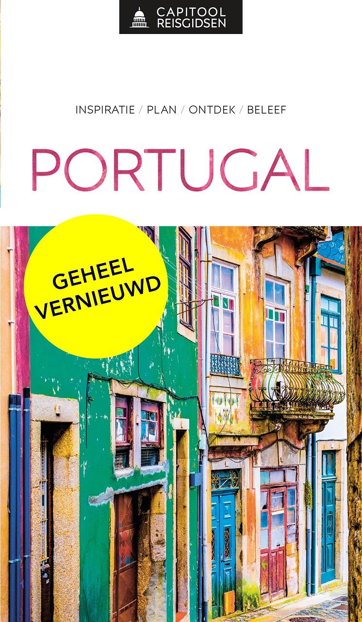 Capitool Portugal 9789000369058  Unieboek Capitool Reisgidsen  Reisgidsen Portugal