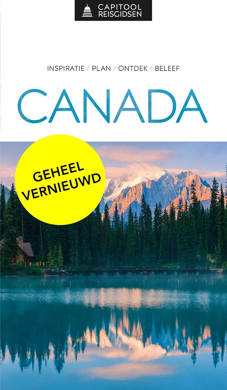 Capitool Canada 9789000369102  Unieboek Capitool Reisgidsen  Reisgidsen Canada