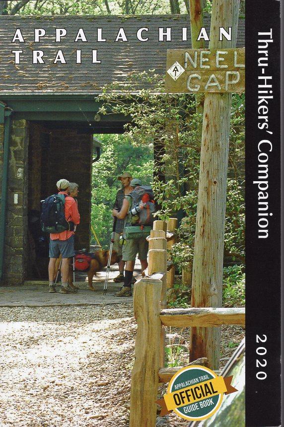 Appalachian Trail Thru-Hikers' Companion | wandelgids 9781944958145  Appalachian Trail Conference   Meerdaagse wandelroutes, Wandelgidsen VS ten oosten van de Rocky Mountains