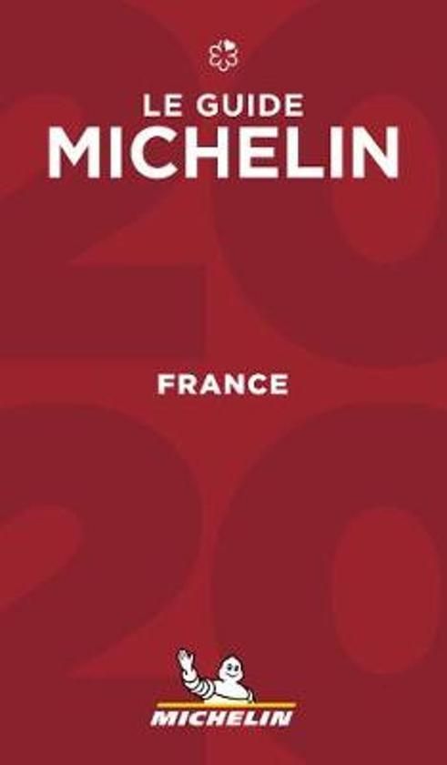 Michelin Gids Frankrijk   France 2020 9782067241817  Michelin Rode Jaargidsen  Hotelgidsen, Restaurantgidsen Frankrijk