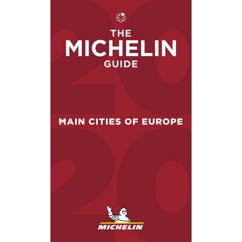 Michelin Gids Europe Main Cities 2020 9782067241909  Michelin Rode Jaargidsen  Hotelgidsen, Restaurantgidsen Europa