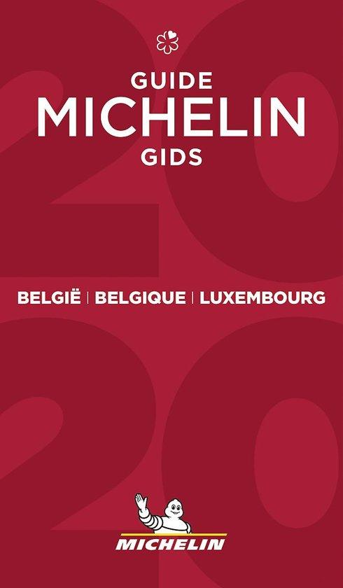 Michelin Gids Belgie + Luxemburg 2020 9782067241947  Michelin Rode Jaargidsen  Hotelgidsen, Restaurantgidsen België & Luxemburg