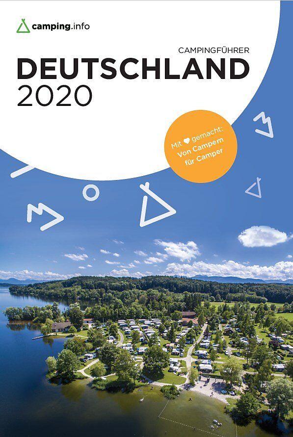Campingführer Deutschland 2020 9783982088013  Camping.Info   Campinggidsen Duitsland