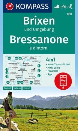 KP-050  Brixen,St.Vigil 1:25.000 | Kompass wandelkaart 9783990444771  Kompass Wandelkaarten Kompass Italië  Wandelkaarten Zuidtirol, Dolomieten, Friuli, Venetië, Emilia-Romagna