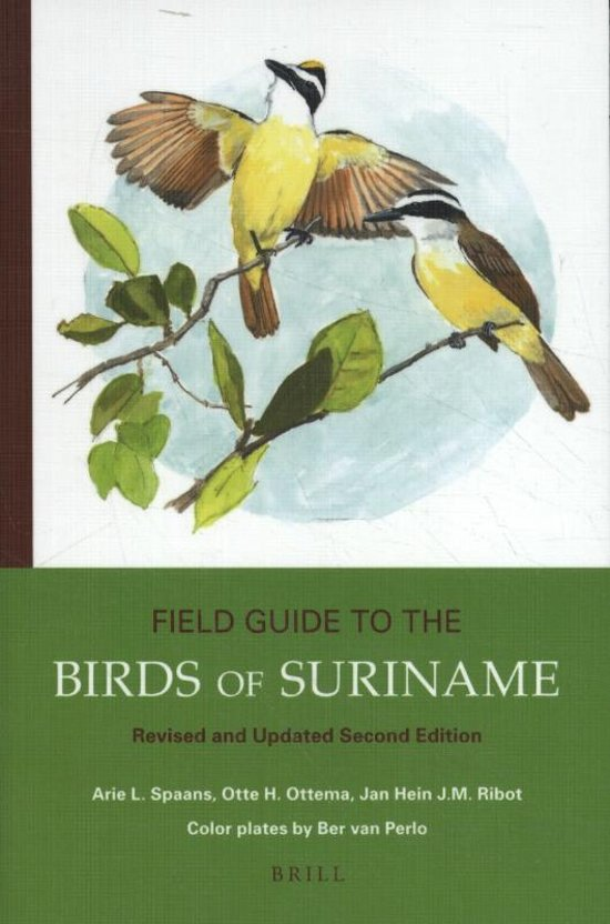 Field Guide to the Birds of Suriname | vogelgids Suriname 9789004352315 Arie L. Spaans, Otte H. Ottema and Jan Hein (KNNV) Brill   Natuurgidsen Suriname, Frans en Brits Guyana