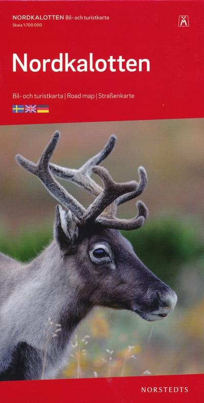 Nordkalotten 1:700.000 9789113084220  Kartförlaget - Lantmäteriet Bil- och Turistkarta  Landkaarten en wegenkaarten Scandinavië & de Baltische Staten