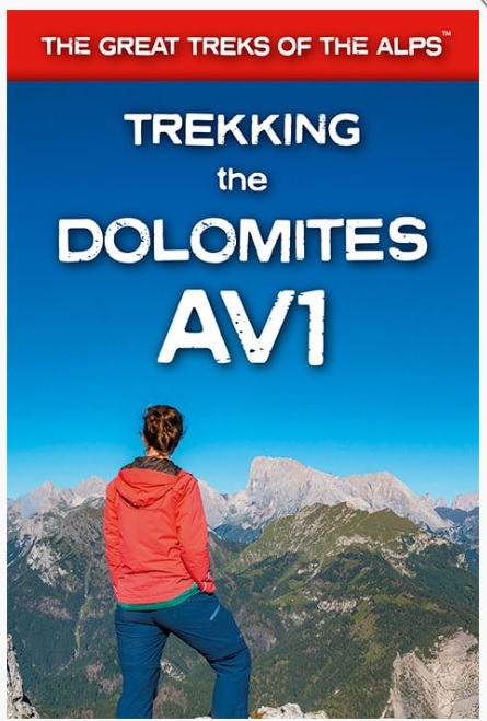 Trekking in the Dolomites: Alta Via nr.1 9781912933082  Knife Edge   Meerdaagse wandelroutes, Wandelgidsen Zuidtirol, Dolomieten, Friuli, Venetië, Emilia-Romagna
