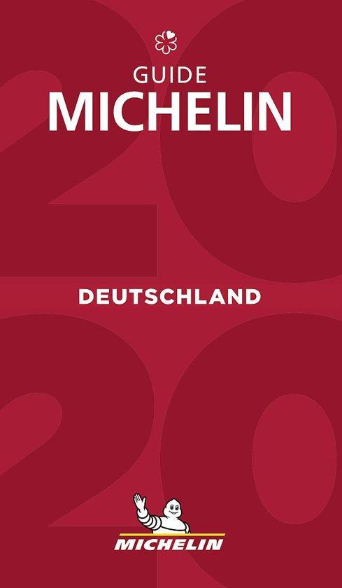 Michelin Gids Duitsland   Deutschland 2020 9782067241886  Michelin Rode Jaargidsen  Hotelgidsen, Restaurantgidsen Duitsland
