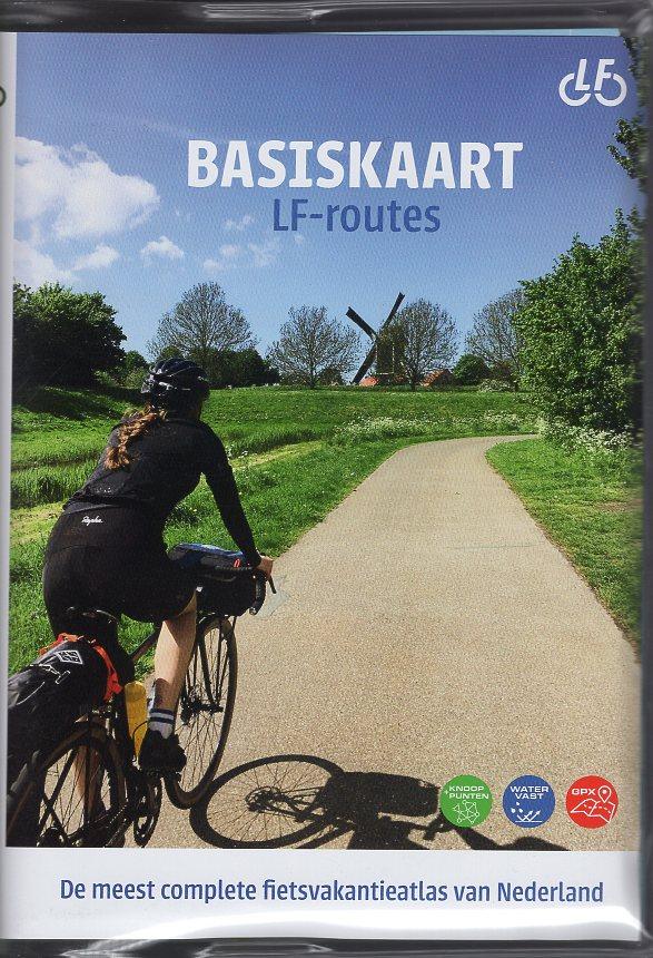 Basiskaart Netwerk LF-routes 9789072930705  Buijten & Schipperheijn Landelijk Fietsplatform  Cadeau-artikelen, Fietskaarten, Meerdaagse fietsvakanties Nederland