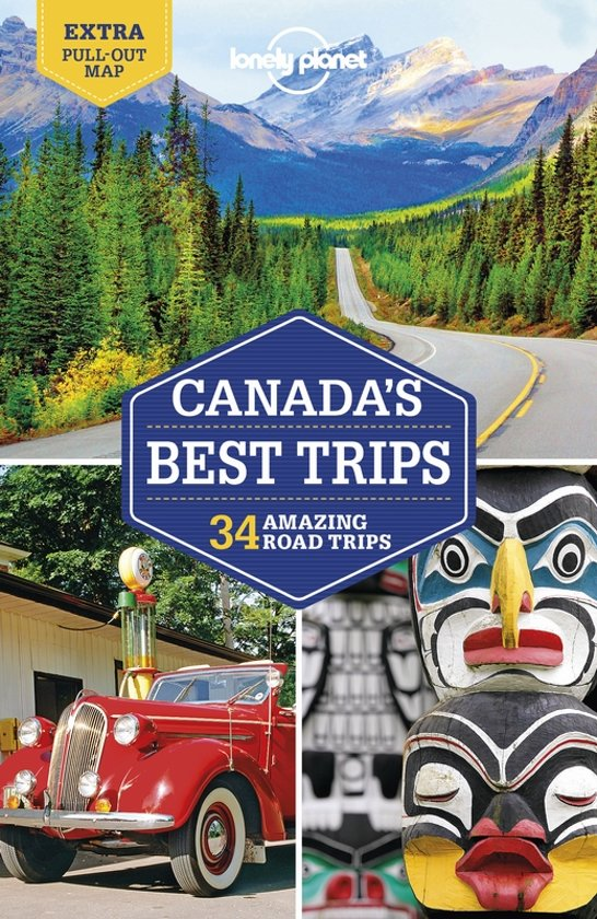 Lonely Planet Canada's Best Trips 9781788683340  Lonely Planet LP Best Trips  Reisgidsen Canada