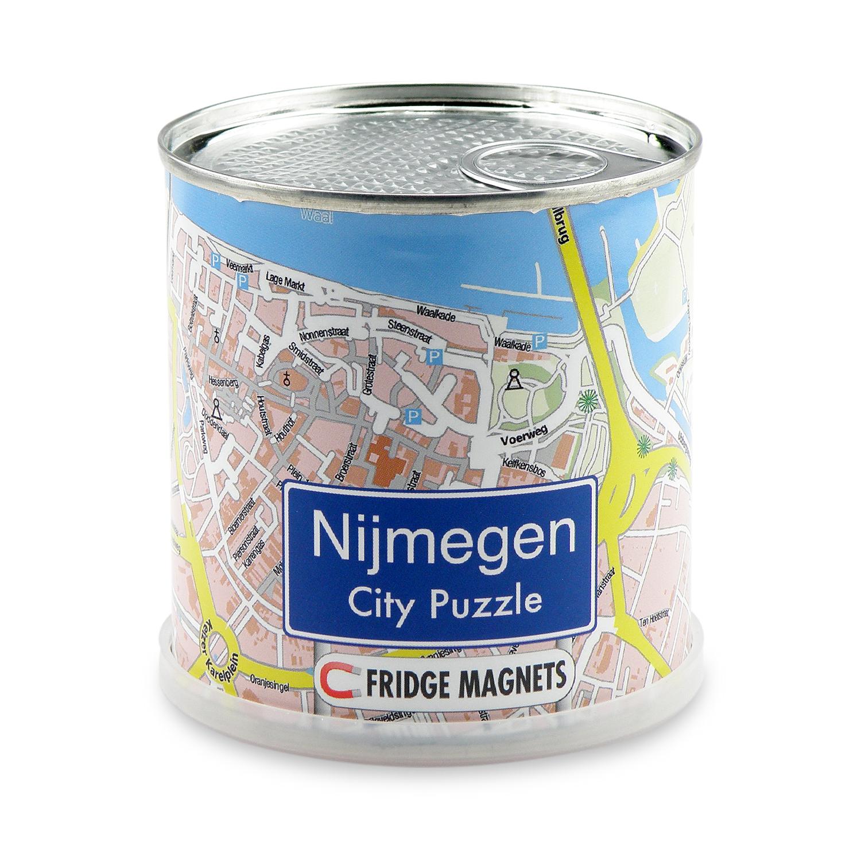 City Puzzle Magnets Nijmegen 4260153727513  Craenen City Puzzles  Overige artikelen Nijmegen en het Rivierengebied