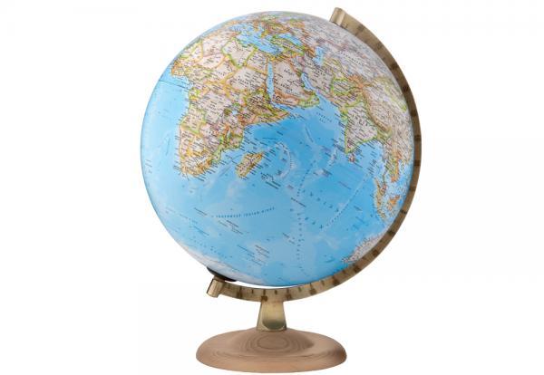 National Geographic Globe, Gold Classic 8007239973350  National Geographic   Cadeau-artikelen, Globes Wereld als geheel
