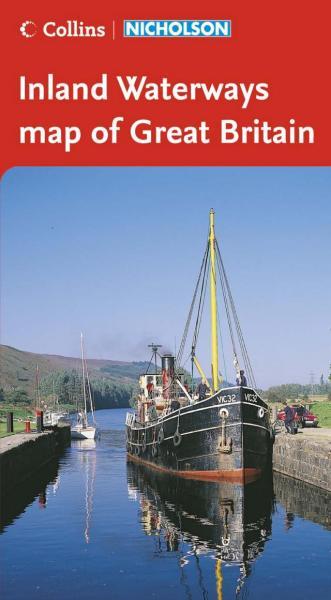 Inland Waterways of Great Britain (folded) 9780007211173  HarperCollins   Watersportboeken Groot-Brittannië
