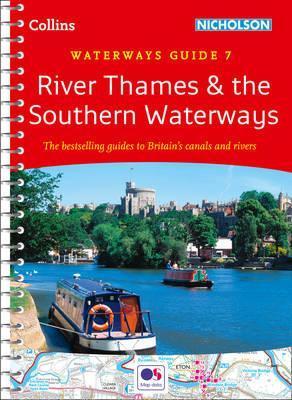 WG-07 River Thames & the Southern Waterways 9780008202040  Collins, Nicholson Waterways Guides  Watersportboeken Midlands, Cotswolds, Oxford
