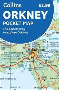 Orkney Pocket Map 9780008325473  Collins   Landkaarten en wegenkaarten Shetland & Orkney