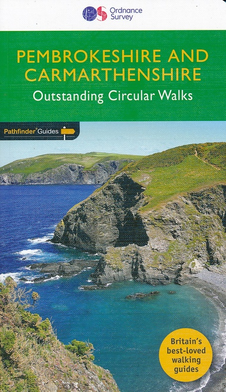 PG-34  Pembrokeshire + Camarthenshire | wandelgids 9780319090374  Crimson Publishing / Ordnance Survey Pathfinder Guides  Wandelgidsen Noord-Wales, Anglesey, Snowdonia
