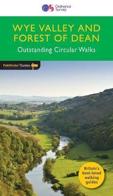 PG-29  Wye Valley + the Forest of Dean Walks | wandelgids 9780319090442  Crimson Publishing / Ordnance Survey Pathfinder Guides  Wandelgidsen Zuid-Wales, Pembrokeshire, Brecon Beacons