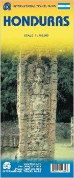 Honduras   landkaart, autokaart 1:750.000 9780921463788  ITM   Landkaarten en wegenkaarten Overig Midden-Amerika