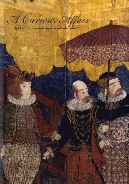 A Curious Affair: The Fascination Between East and West 9780939117345 McGill, Forrest (Author), Tsuruta, Kaz (Photograph Asian Art Museum of San Francisco   Historische reisgidsen, Landeninformatie Oost-Azië