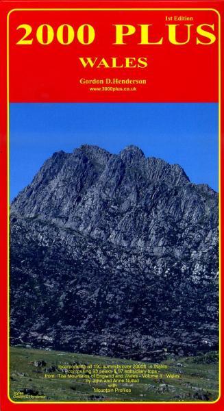 2000 Plus: Wales 9780952738138  Gordon Henderson   Klimmen-bergsport Wales