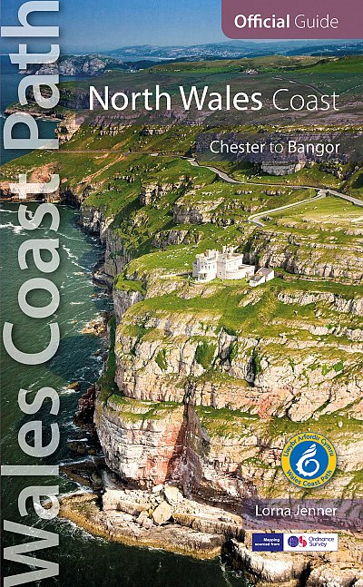 North Wales Coast: Wales Coast Path Official Guide 9780955962516  Alyn Books Ltd   Wandelgidsen Wales