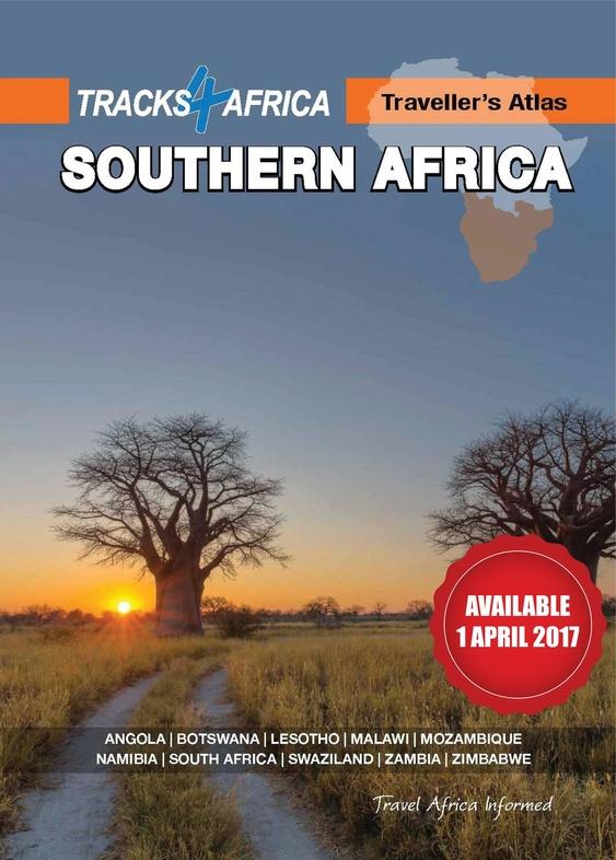 Atlas Zuidelijk Afrika 9780992183004  Tracks4Africa   Wegenatlassen Zuidelijk-Afrika