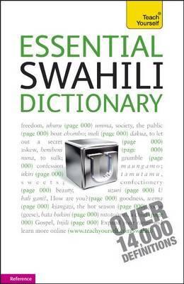 Swahili Dictionary 9781444104080  Hodder & Stoughton   Taalgidsen en Woordenboeken Oost-Afrika