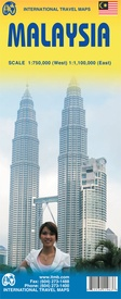 Maleisië  | landkaart, autokaart 1:750.000-1.100.000 9781553411963  ITM   Landkaarten en wegenkaarten Maleisië en Brunei